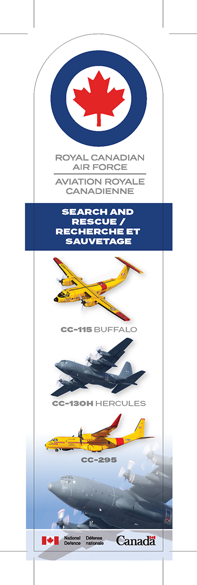Search and rescue bookmark