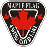Maple Flag badge