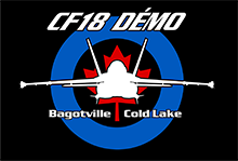 CF18 Demonstration Team Logo