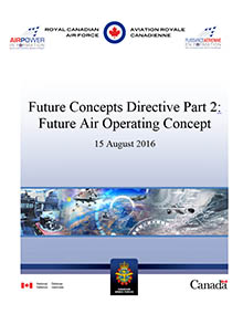 Cover of Future Concepts Directive Part 2: Future Air Operating Concept
