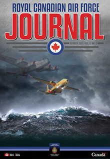 Cover of RCAF Journal - SUMMER 2017 - Volume 6, Issue 3