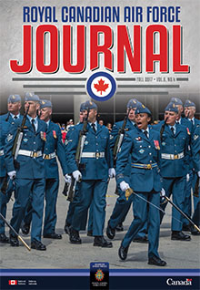 Cover of RCAF Journal - FALL 2017 - Volume 6, Issue 4