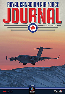 Cover of The RCAF Journal 2019 Volume 8, Issue 1 Winter