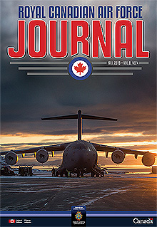 Cover of The RCAF Journal 2019 Volume 8, Issue 4 Fall