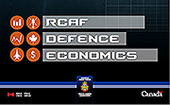 Cover of RCAF Defence Economics