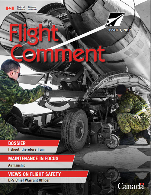 Flight Comment Issue 1, 2017 Cover page