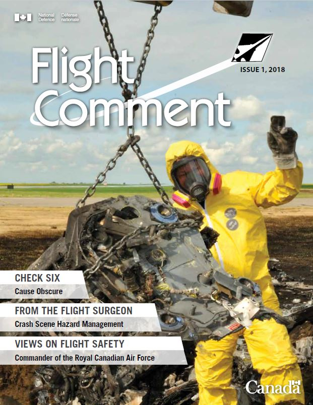 Flight Comment Issue 1, 2018 Cover page