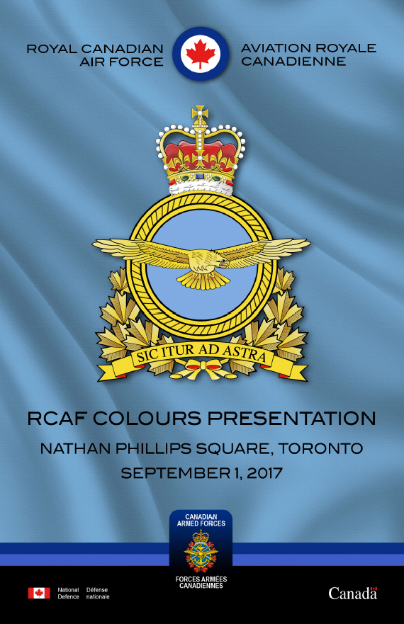 Download the RCAF Colours Commemorative Booklet (PDF, 9.7 mb). HTML version below.