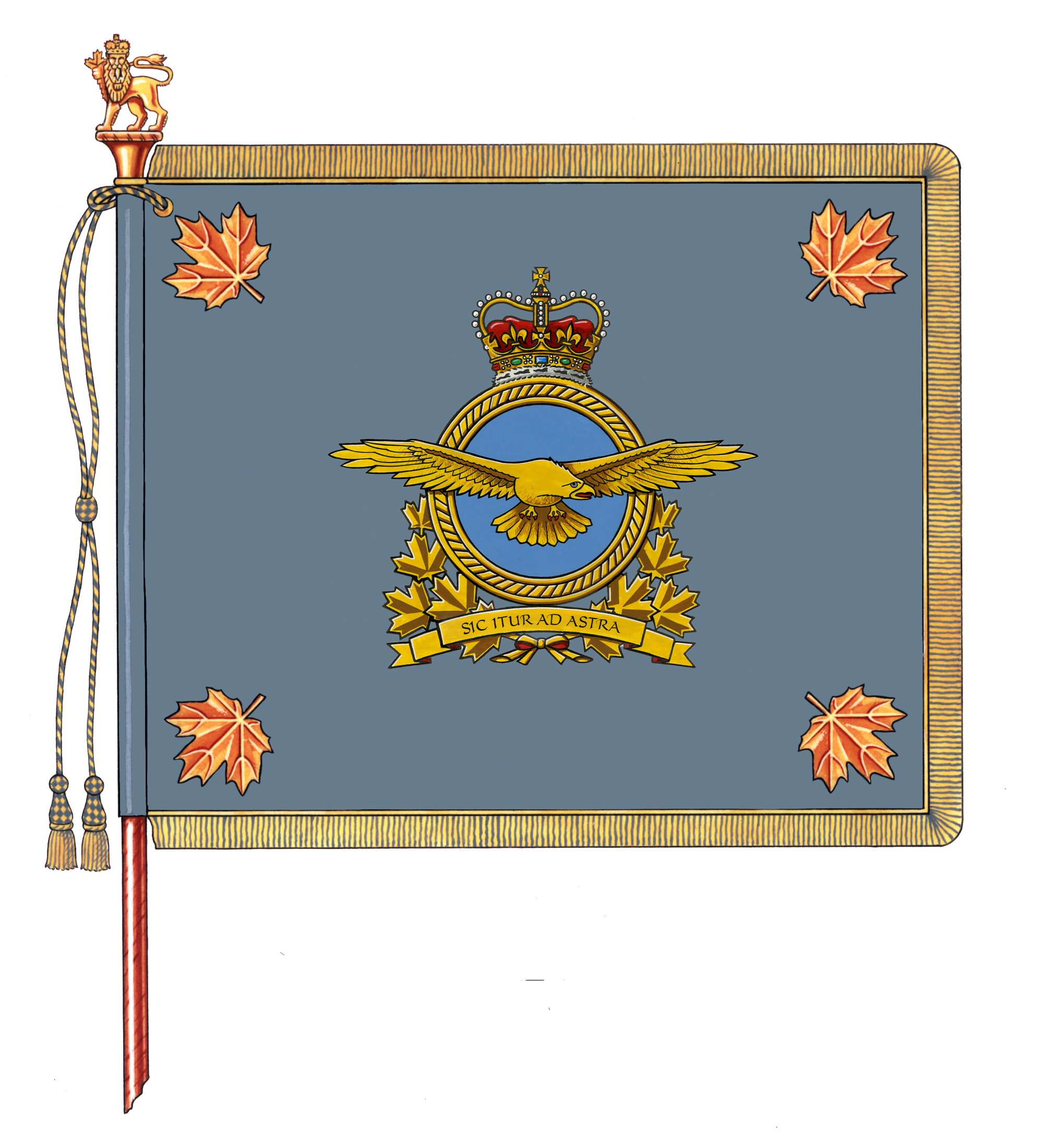 Royal Canadian Air Force's new Command Colour