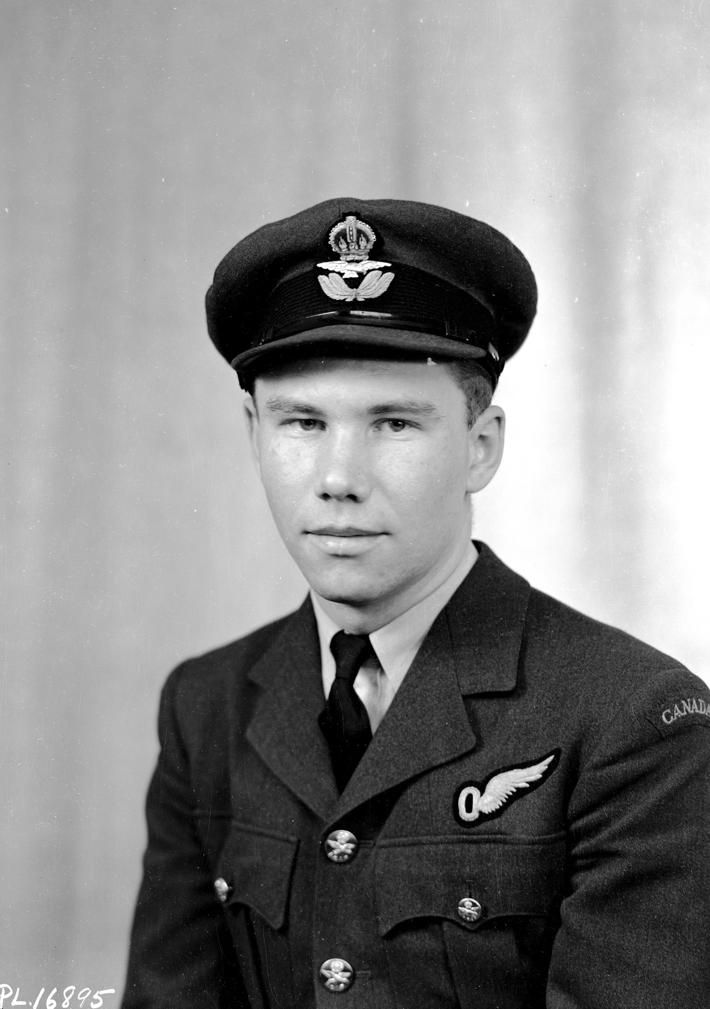"Pilot Officer Torger Harlo ""Terry"" Taerum, RCAF, was photographed in London, England, shortly after the Dambusters raid. PHOTO: DND"