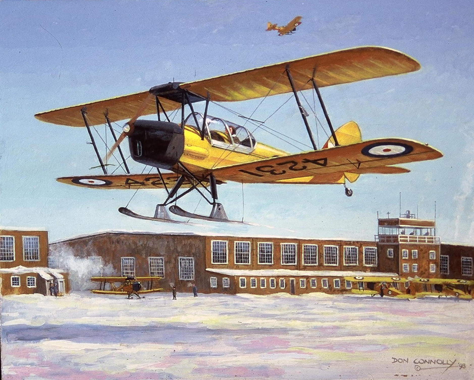 """Elementary Tiger Moth"" by Don Connolly"