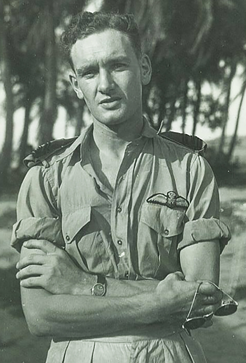 John Stewart Hart, wearing his tropical uniform while in India, in an undated photograph. PHOTO: Courtesy of John Hart