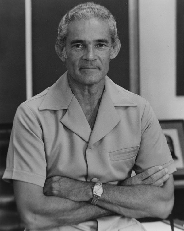 Michael Manley served in the RCAF from 1943 to 1945. In 1972, he became the fourth prime minister of Jamaica. PHOTO: Wikipedia