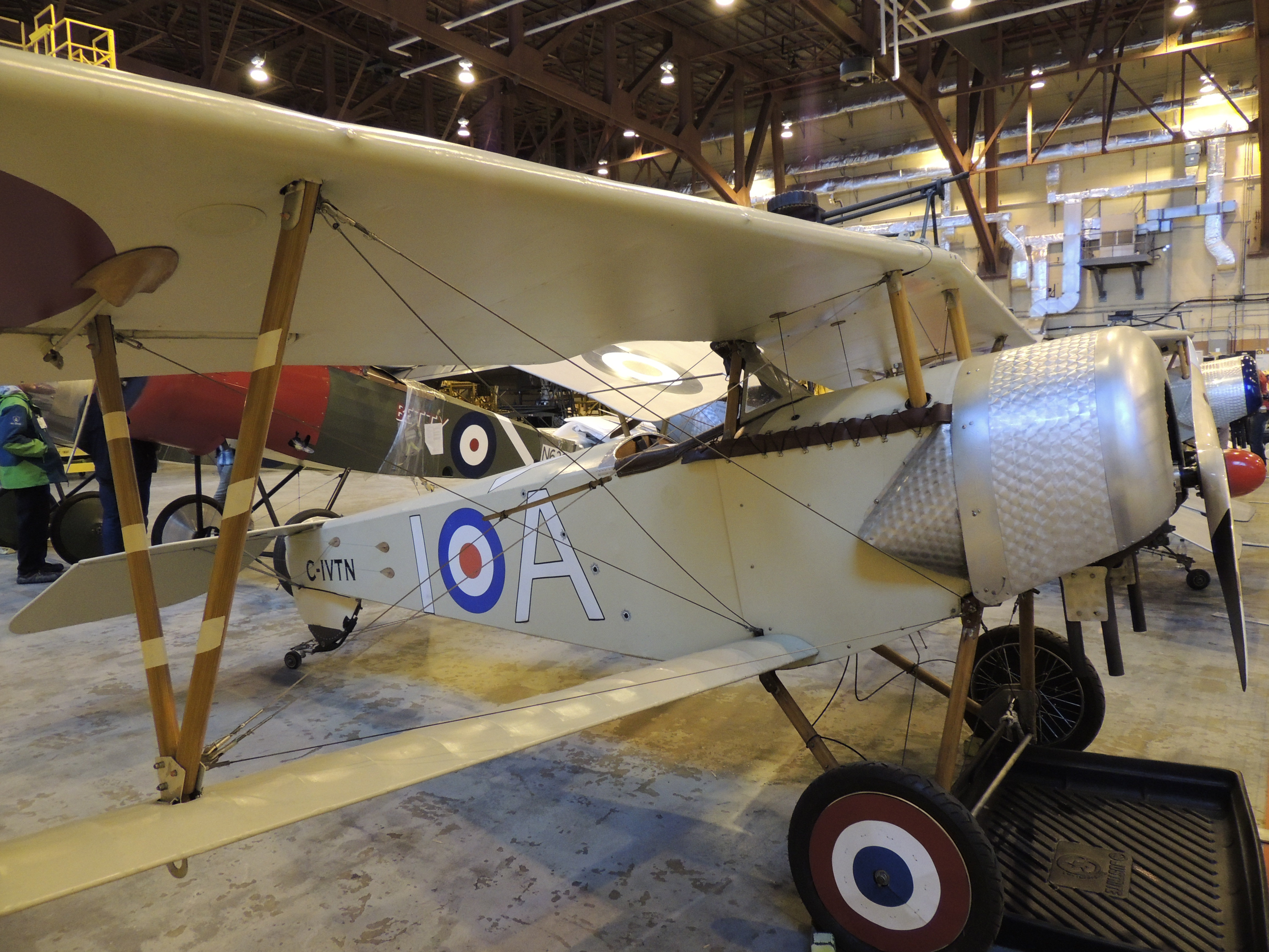 Un aéronef Nieuport XI de la Vimy Flight Association. PHOTO : Major Holly-Anne Brown