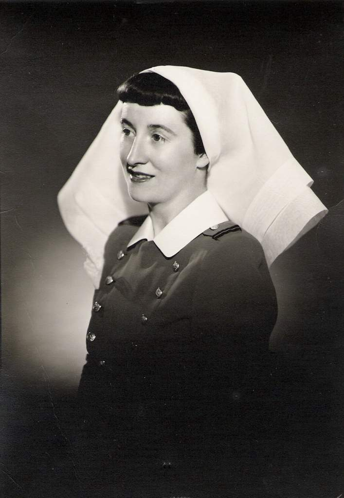 Grace MacEachern as a nursing sister. Credit: MacEachern Family Archives