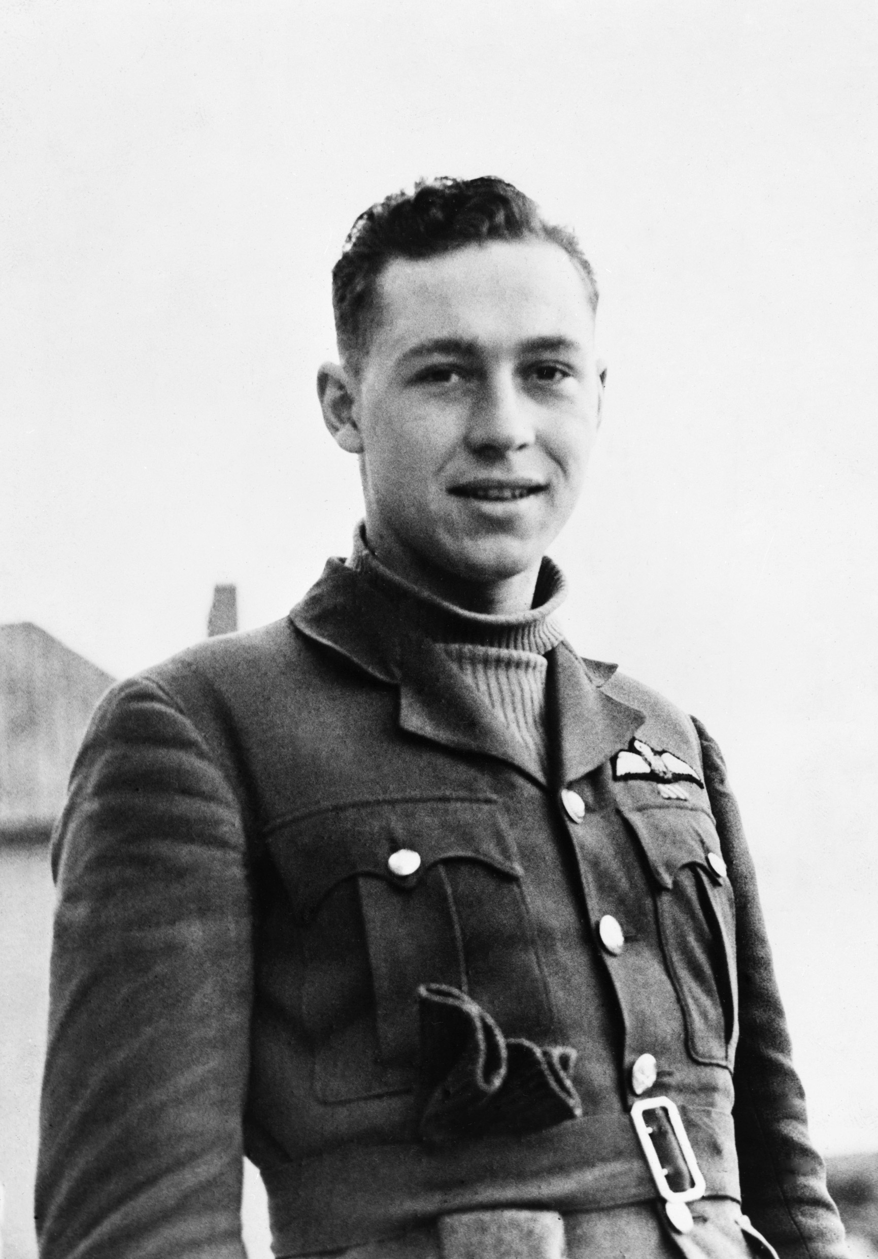 Le sous-lieutenant d'aviation William Lidstone McKnight. PHOTO : © Imperial War Museum, CH 1321