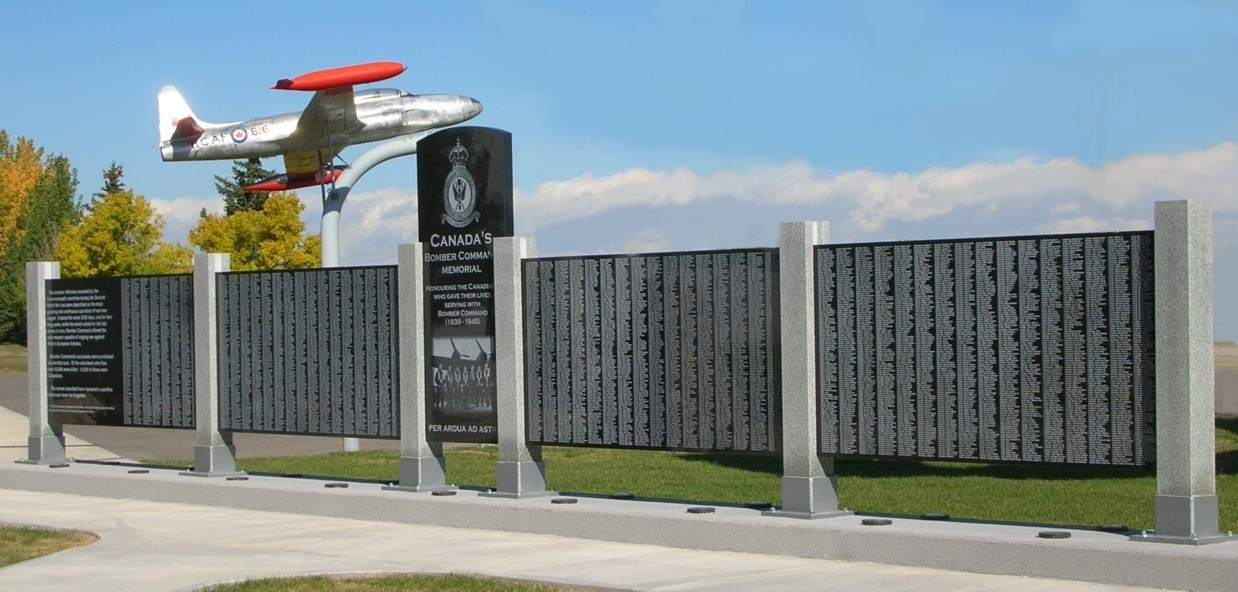 As Pilot Officer Howell, Flight Sergeant Klauer and Flight Sergeant Swiderski served with Bomber Command, their names are among the more than 10,600 listed on the Bomber Command Memorial at the Bomber Command Museum of Canada at Nanton, Alberta. PHOTO: John Chalmers