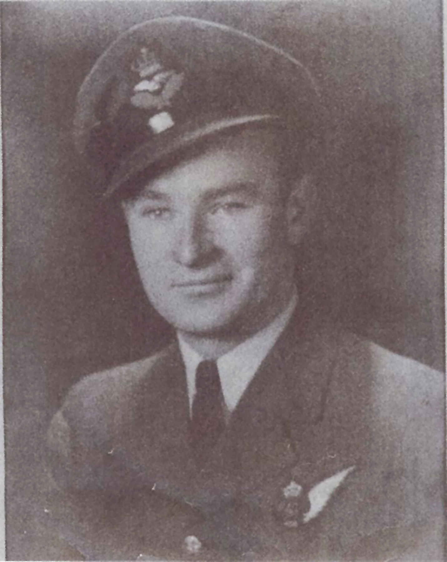 Pilot Officer Jerry Taylor Guthrie, from Crewson's Corners, Ontario, died on July 29, 1944, when his Halifax VII NP-716 bomber (EQ-P) crashed in Germany. He is buried in the Kiel War Cemetery in Schleswig-Holstein, Germany. PHOTO: http://www.veterans.gc.ca/eng/remembrance/memorials/canadian-virtual-war-memorial/detail/2356443