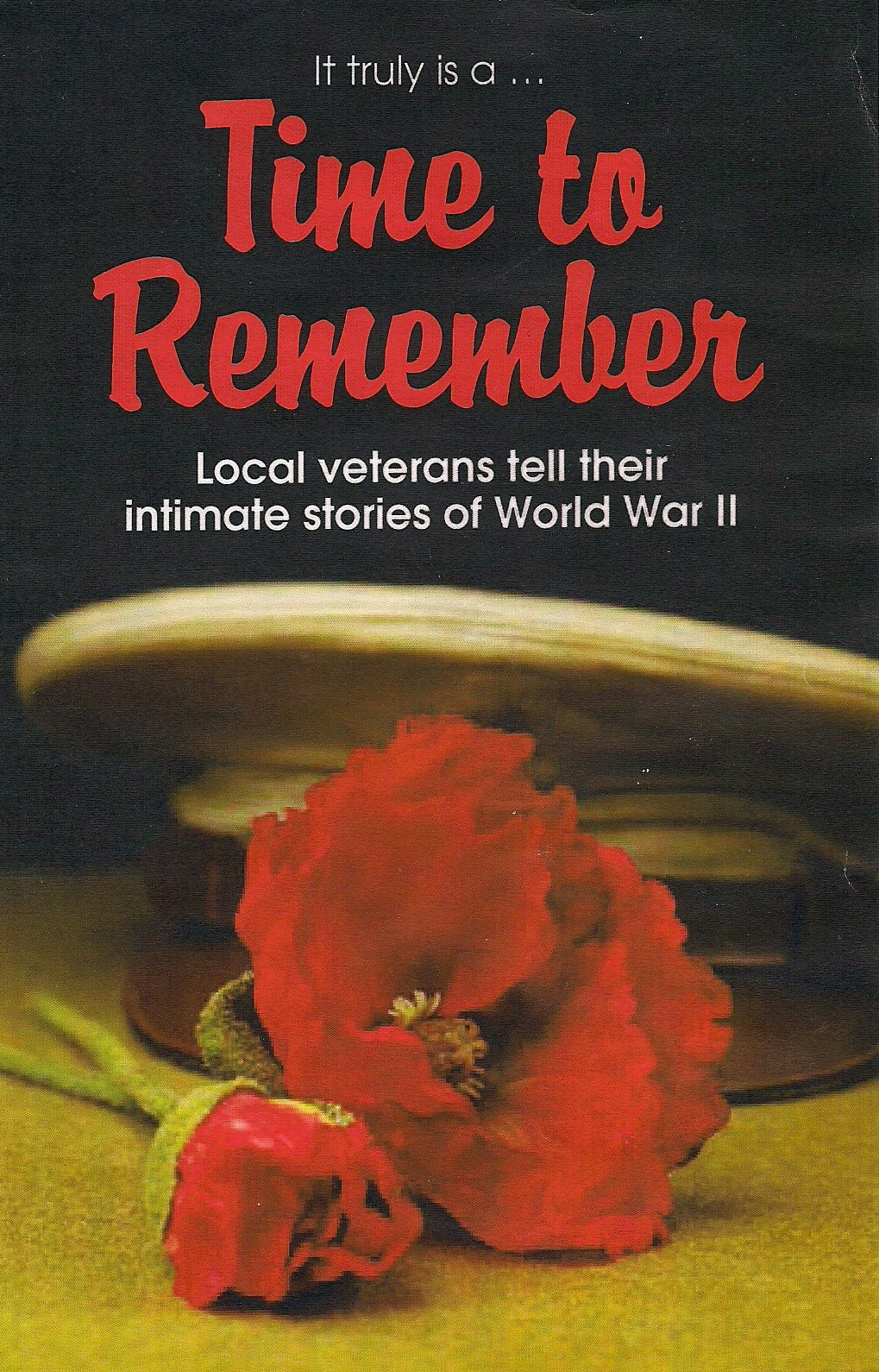 "A poster for the video ""Time to Remember"". The text reads:
