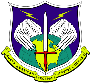 The NORAD badge.