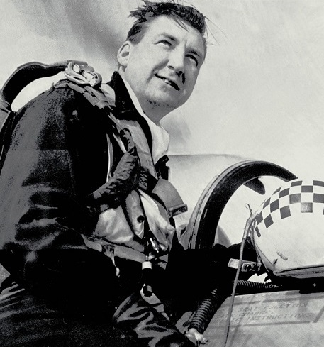Squadron Leader Andy MacKenzie. PHOTO: PMR-73-34