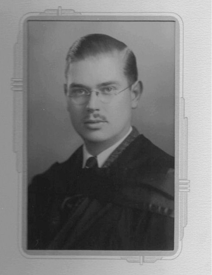 In 1940, Lewis Burpee graduated from Queen's University in Kingston, Ontario, with a Bachelor of Arts degree in history, politics and English. Photo: A.R. Timothy