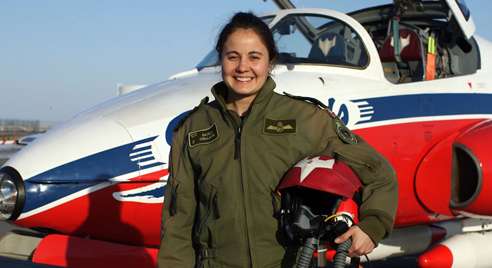 Captain Sarah Dallaire