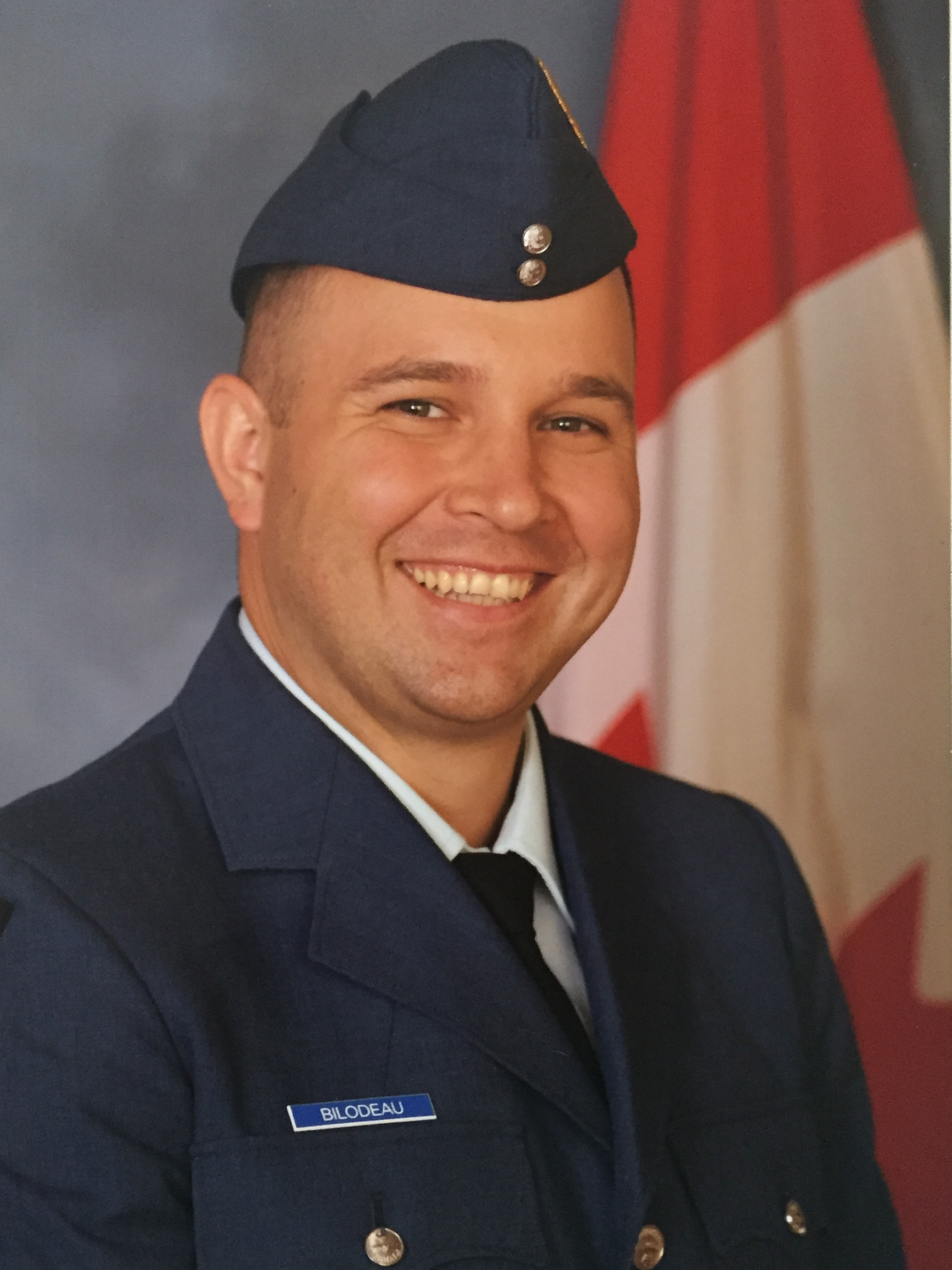 Second Lieutenant Randy Bilodeau