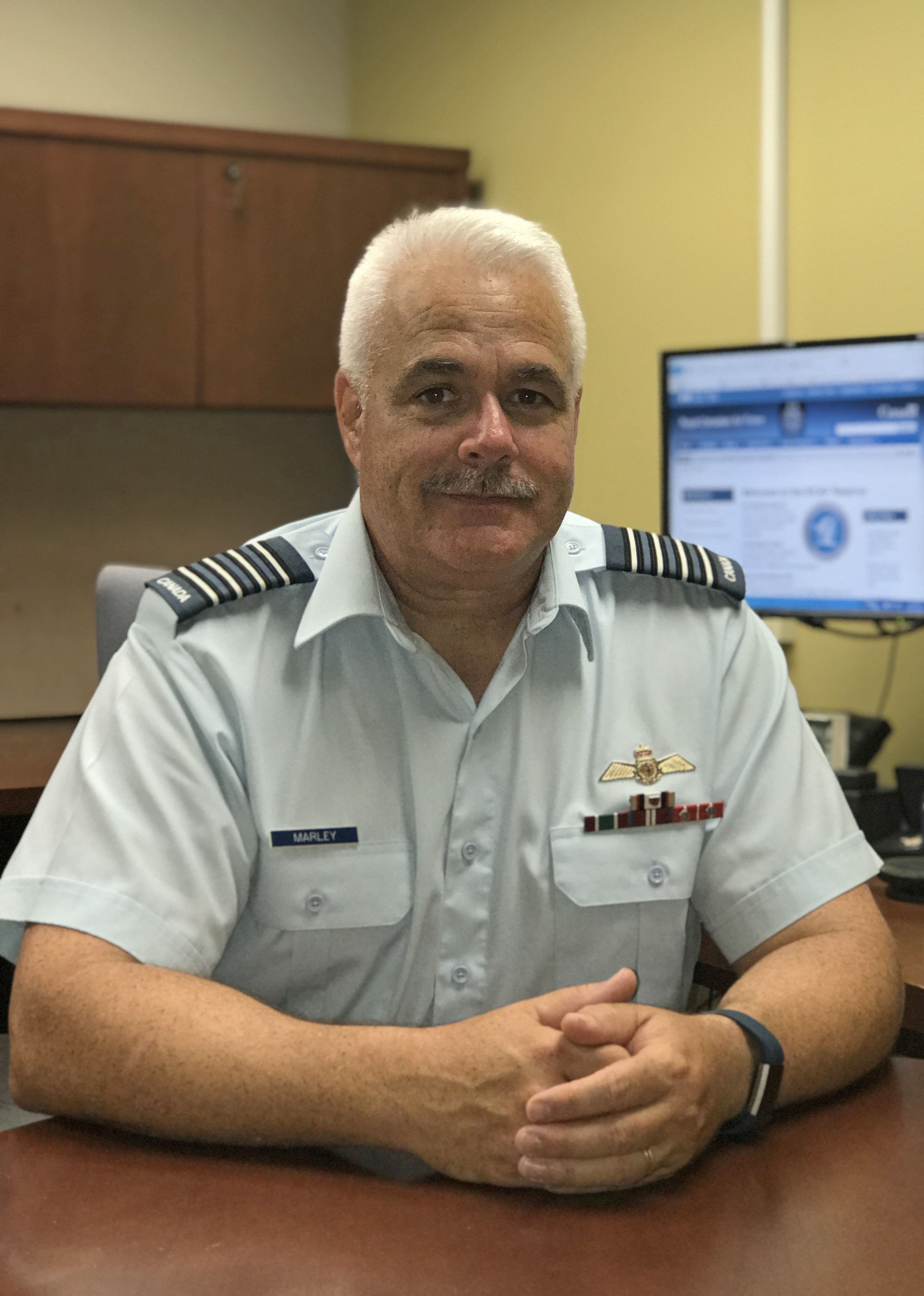 Colonel Shawn Marley, Director RCAF Reserve