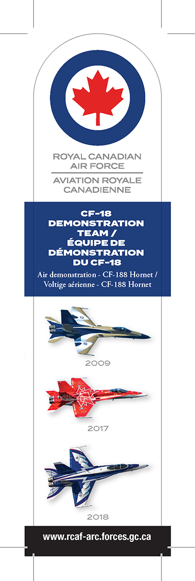 Air demonstration - CF-18 Demonstration Team
