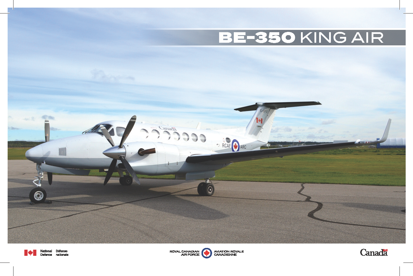 BE-350 King Air fact sheet image