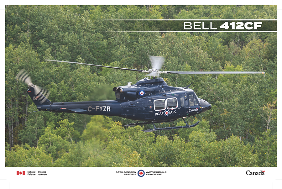 Bell 412CF fact sheet image