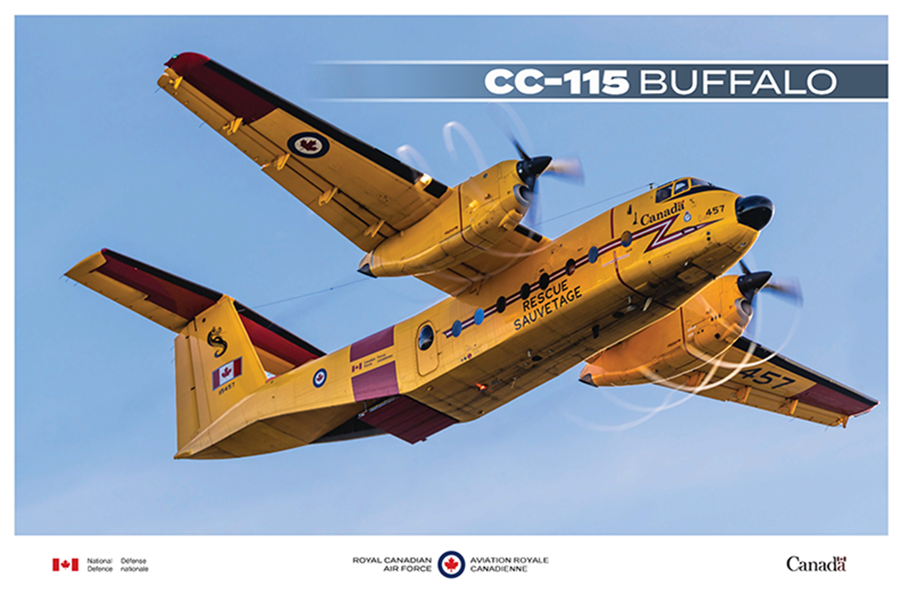 CC-115 Buffalo fact sheet image
