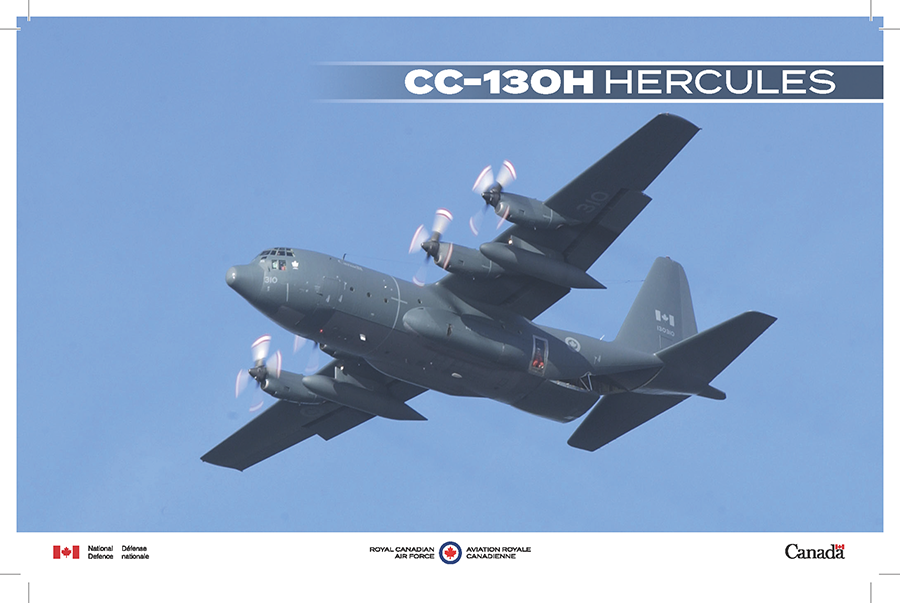 CC-130H Hercules fact sheet image