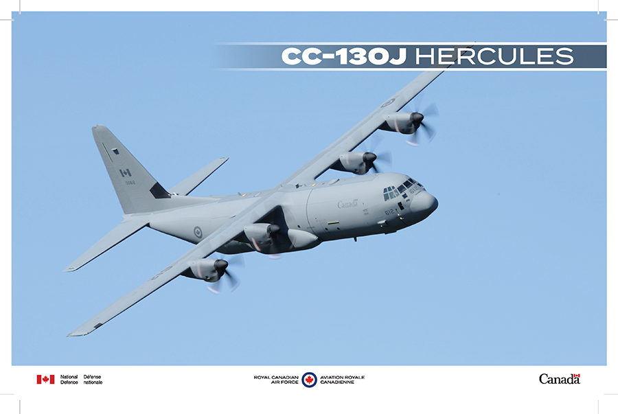 CC-130J Hercules fact sheet image