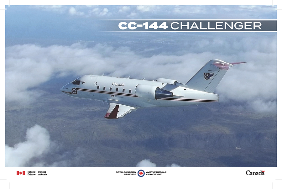 CC-144 Challenger fact sheet image