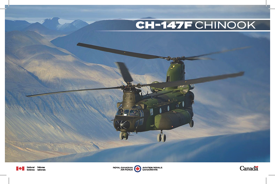 CH-147F Chinook fact sheet image