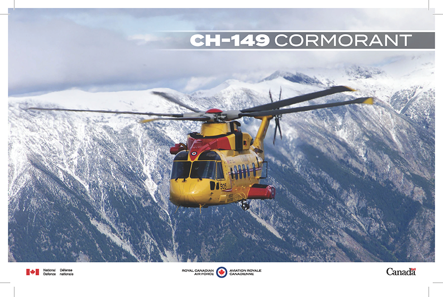 CH-149 Cormorant fact sheet image