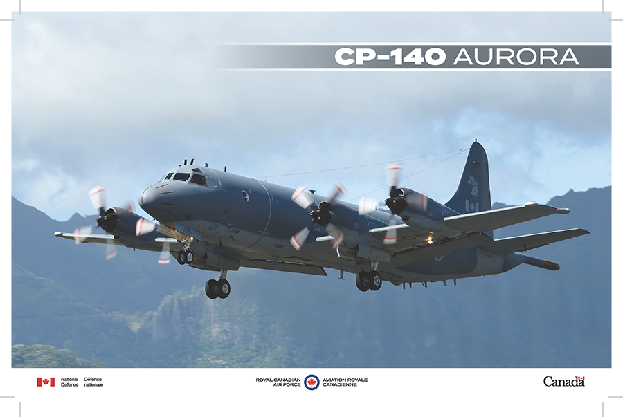 CP-140 Aurora fact sheet image