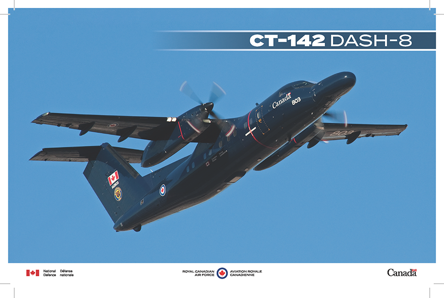 CT-142 Dash-8 fact sheet image