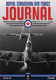 Cover of The RCAF Journal 2019 Volume 8, Issue 2 Spring