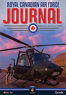 Cover of The RCAF Journal 2019 Volume 8, Issue 3 Summer