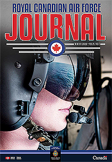 Cover of The RCAF Journal 2020 Volume 9, Issue 1 Winter