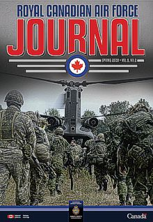 Cover of The RCAF Journal 2020 Volume 9, Issue 2 Spring