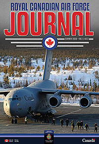 Cover of The RCAF Journal 2020 Volume 9, Issue 3 Summer