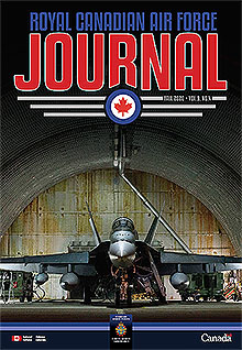 Cover of The RCAF Journal 2020 Volume 9, Issue 4 Fall