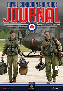 Cover of The RCAF Journal 2021 Volume 10, Issue 1 Winter