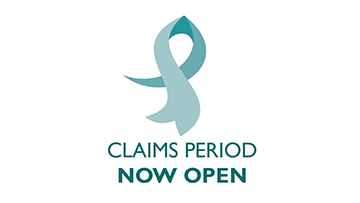 Claims period now open