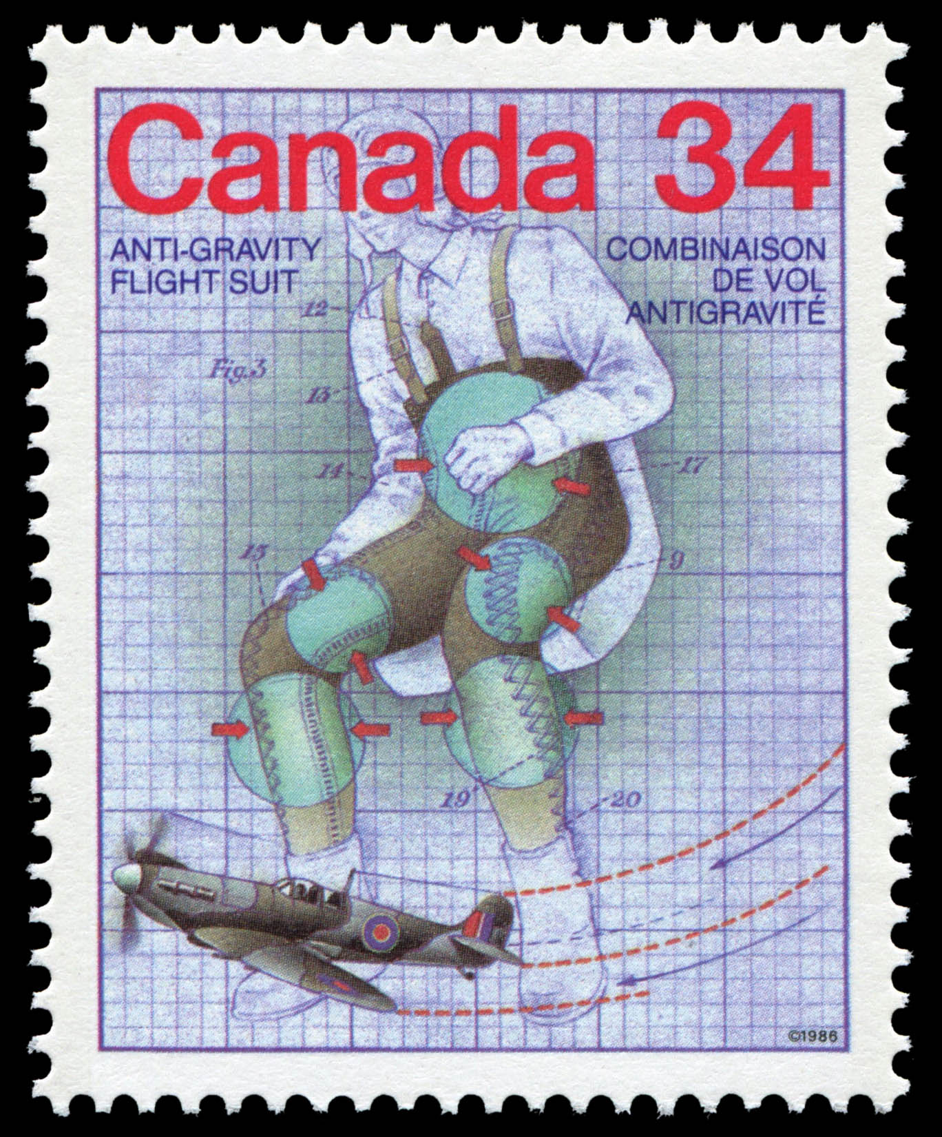 Canada Post issued a stamp in honour of Dr. Wilbur Rounding Franks to celebrate Canada Day in 1986. PHOTO: Canada Post