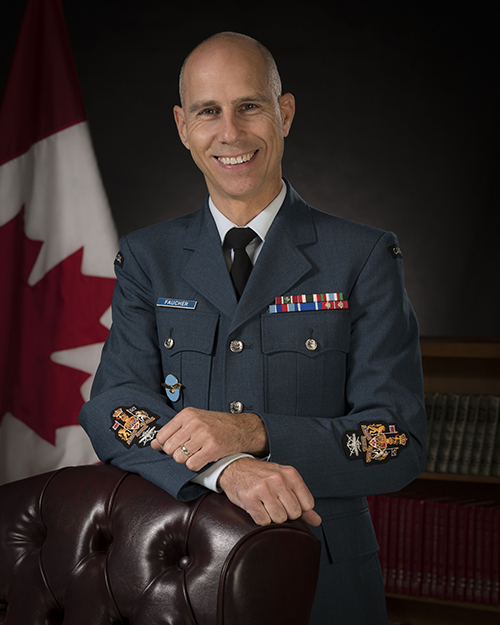 Chief Warrant Officer Claude Faucher